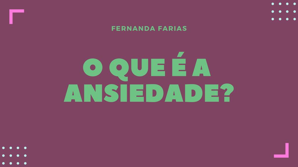ANSIEDADE X PERDA DE PESO